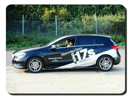 My daughter thoroughly enjoyed the u17 39 s driving for Mercedes benz driving experience