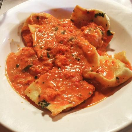 Lobster Ravioli @ Rino's Place - Picture of Rino's Place, Boston - TripAdvisor