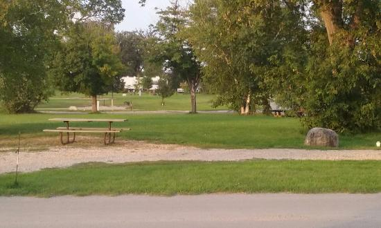 East Grand Forks, MN: Site of the campground