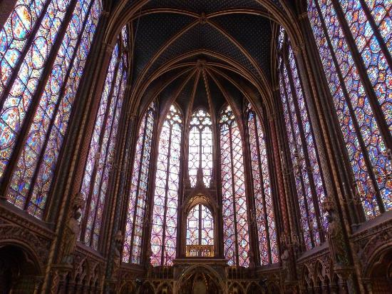 Chapel In France Stained Glass