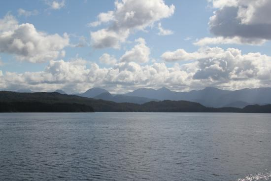 Port Hardy, Καναδάς: View from the Ferry