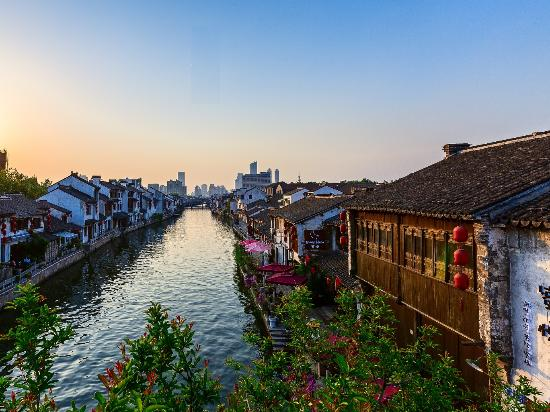 Wuxi, China: Grand Canal View