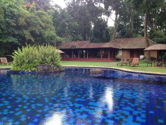 The swimming pool picture of orange county coorg siddapura tripadvisor Hotels in coorg with swimming pool