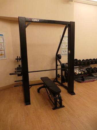 salle de fitness picture of aquila rithymna beach hotel adelianos kampos tripadvisor. Black Bedroom Furniture Sets. Home Design Ideas