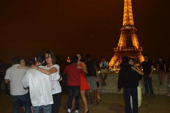 Dancing In View Of The Eiffel Tower Picture Of Trocadero Paris TripAdvisor