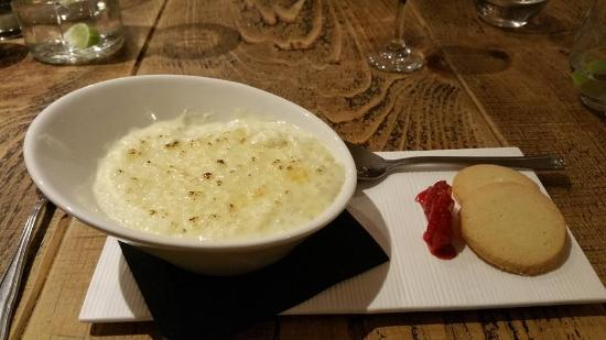 Аксбридж, UK: Amazing Rice Pudding