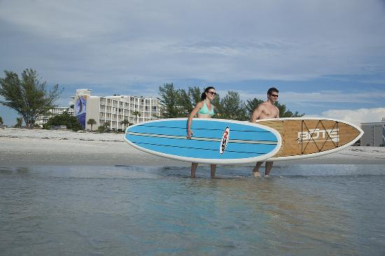 Guy Harvey Outpost, a TradeWinds Beach Resort: Stand-Up Paddleboard