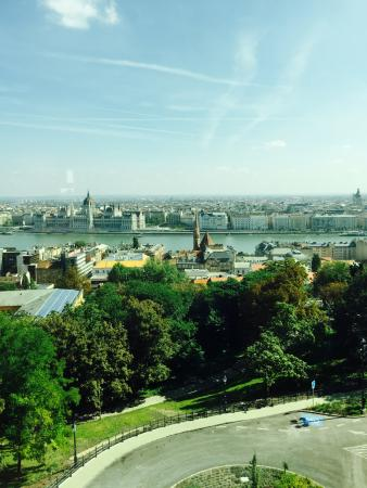 View From The Room Picture Of Hilton Budapest Castle District Budapest Tripadvisor
