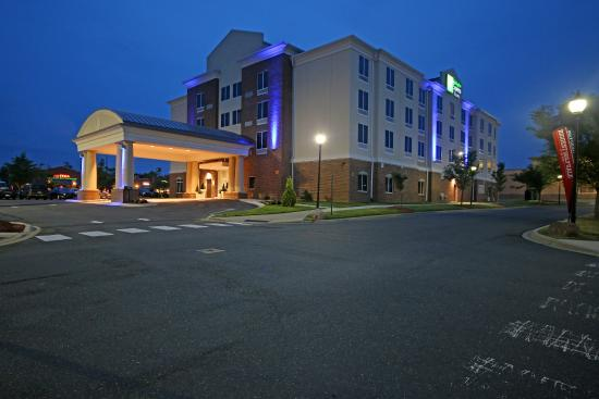 The Holiday Inn Express & Suites Charlotte North Photo Courtesy of The Holiday Inn Express & Suites Charlotte North