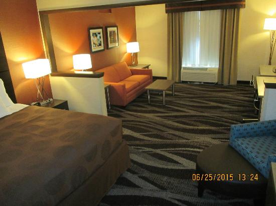 Hornell, NY: King Suite room