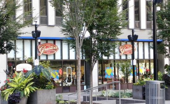Graeter's Ice Cream: Fountain Square location