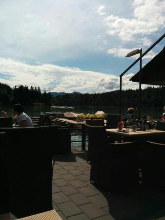 Medvode, Slovenia: Great views of the water.