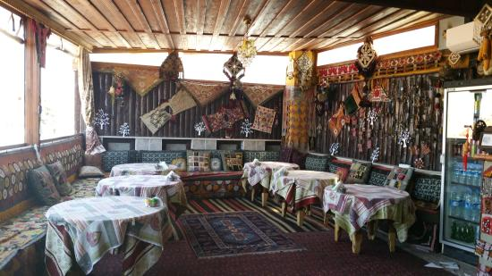 Homeros Pension & Guesthouse: Dining area