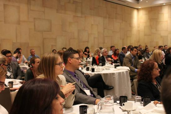 White Oaks Conference Resort & Spa: Attentive and well fed attendees