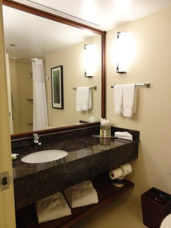 Doubletree Suites by Hilton Hotel & Conference Center Chicago / Downers Grove: Das Bad