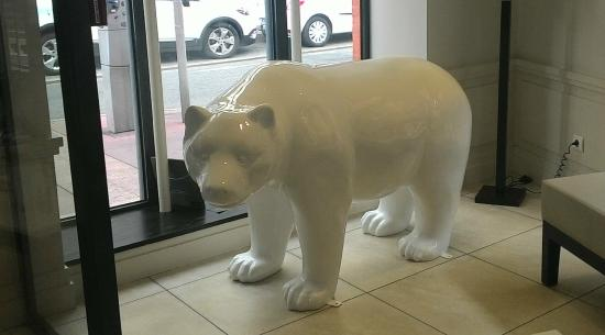 Hotel Ours Blanc Centre: l'ours blanc