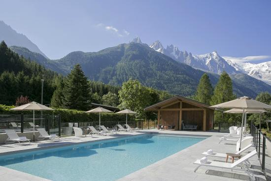 Best western plus excelsior chamonix hotel spa france for Camping chamonix piscine