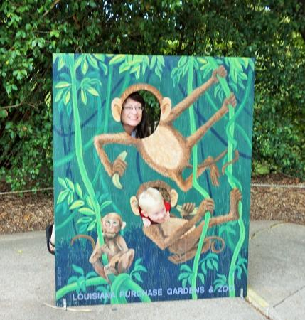 Maryland And Mississippi Visitors Having Fun Picture Of Louisiana Purchase Gardens Zoo