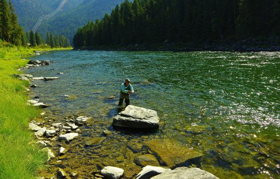 Cowboy Up Montana Roadhouse Dinner & Bed: Flyfishing on the Clark Fork River
