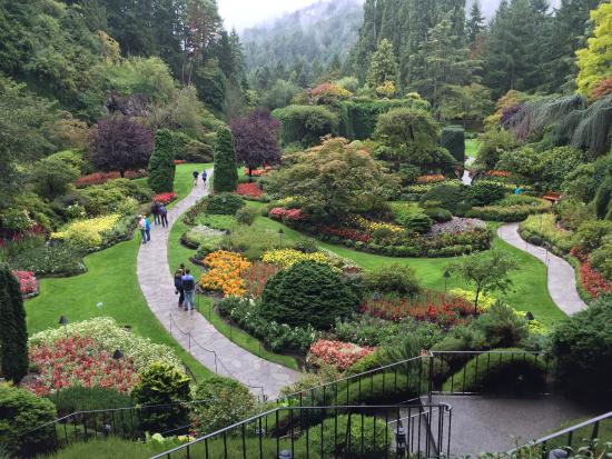 Precise Beauty Picture Of Butchart Gardens Central Saanich Tripadvisor