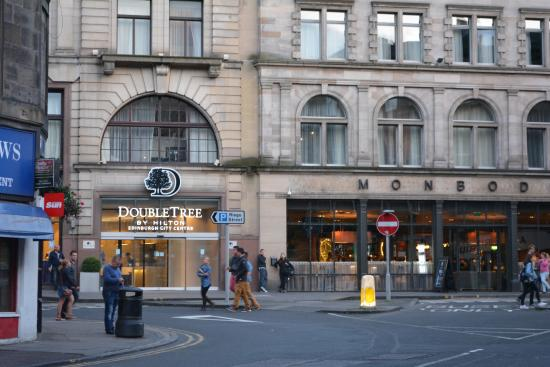 Great View Of The Hotel Picture Of Doubletree By Hilton Hotel Edinburgh City Centre Edinburgh