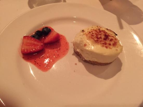 Cheesecake Dessert Picture Of Capital Grille Palm Beach Gardens Palm Beach Gardens Tripadvisor