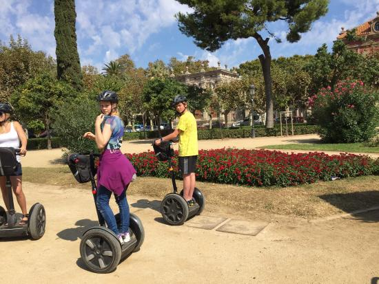 Barcelona Segway Glides - Picture of Barcelona Segway ...