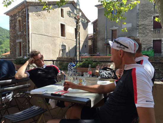 Le Vigan, France: Fantastic cycling area of Cevennes National Park - and very inspiring dining in St. Martial