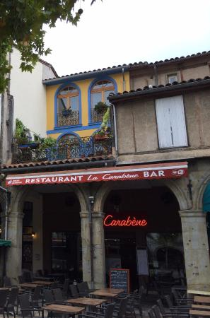 Limoux, ฝรั่งเศส: View of restaurant