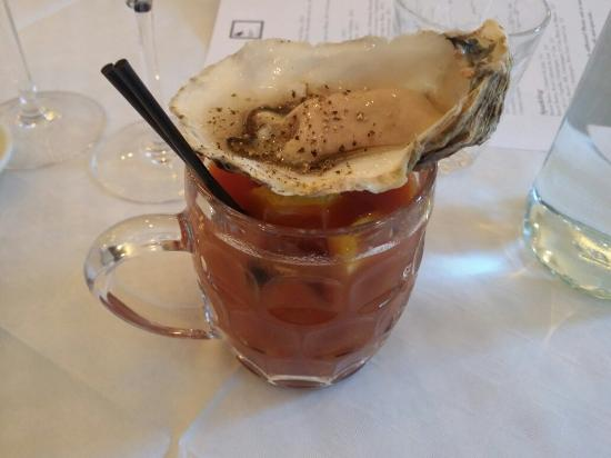 The Clam One - Bonnie Gull Seafood Shack The Best Bloody Marys In London