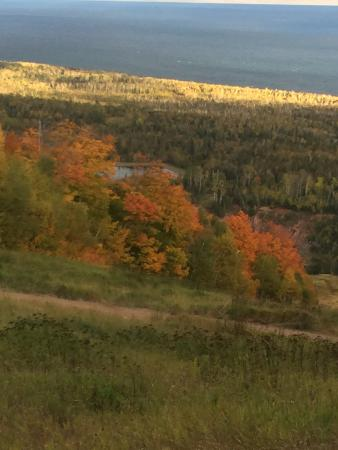 Lutsen, Μινεσότα: Beautiful way to see the fall colors! I will be taking the tram every fall.