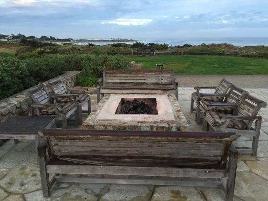The Inn At Spanish Bay Patio Fire Pit