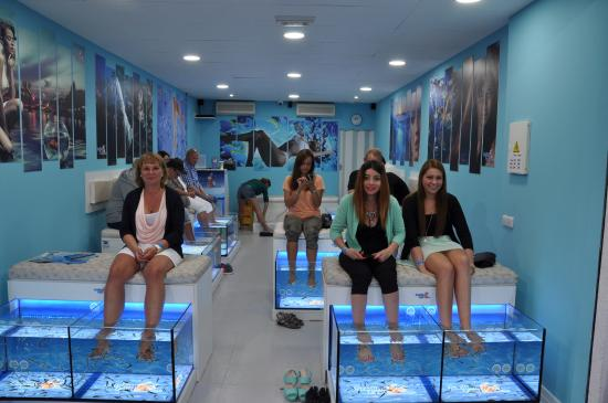 gratissvenskporr smile fish spa