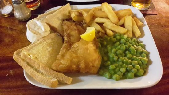 Shardlow, UK: Fish and Chips
