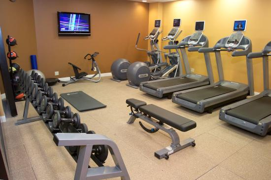 Fitness room picture of doubletree by hilton hotel st
