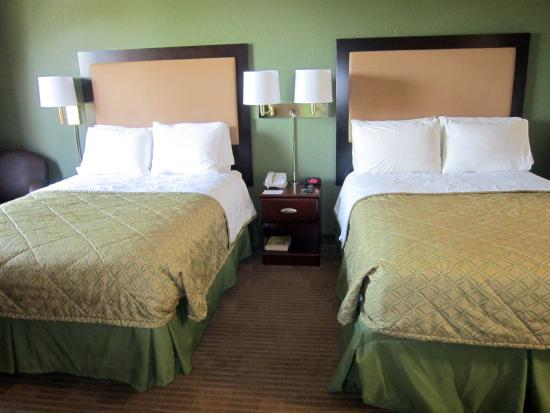 Studio suite 2 double beds picture of extended stay america seattle federal way federal for Extended stay america one bedroom suite
