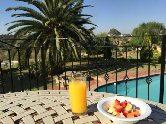 Amber Rose Country Estate: hotel and breakfast