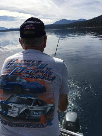 Jeff for Tahoe sport fishing