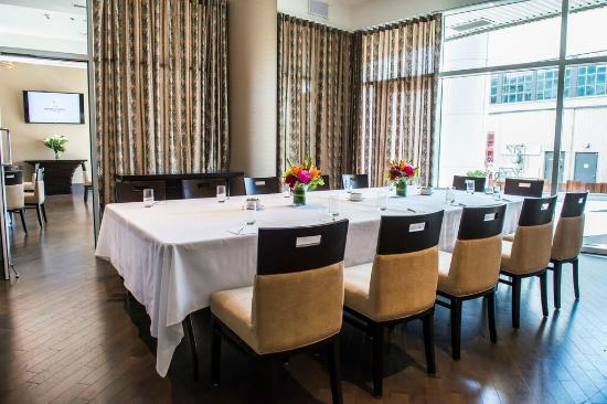 Private dining room at the lobby restaurant picture of for Best private dining rooms vancouver