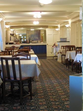 Inn on Mackinac: One of the several areas in which to relax and/or eat