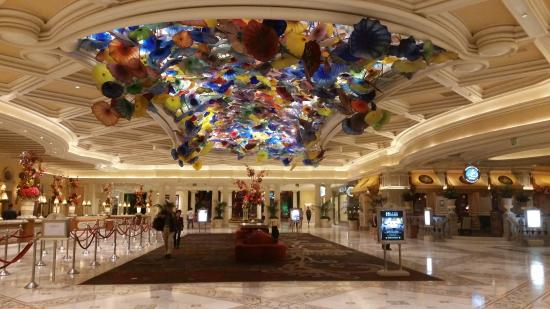 Recepci 243 N Hotel Bellagio Picture Of Bellagio Las Vegas