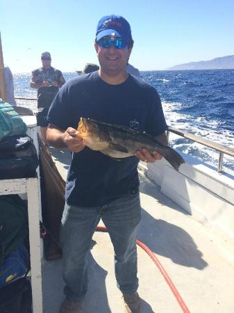 Nice calico picture of channel islands sportfishing for Oxnard fishing report