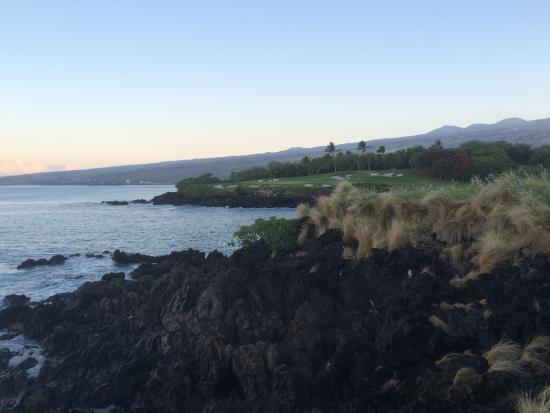 Mauna Kea Resort Golf Course: Famous part 3, hit it solid