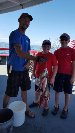 6 hrs fishing tour for Captain anderson deep sea fishing