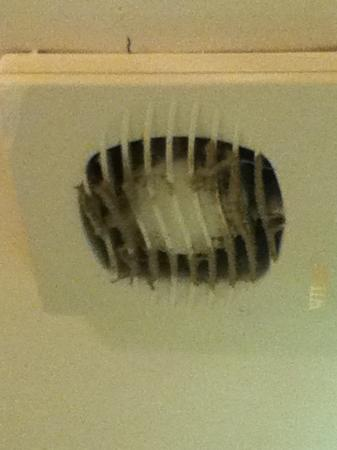 Cannards Grave, UK: Extractor fan