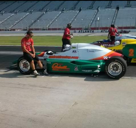 Ready To Take Off Picture Of Atlanta Motor Speedway
