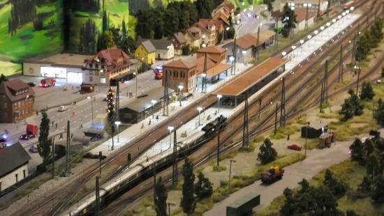 Hausach, Germany: Miniature station