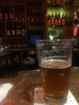 Hayden, ID: Awesome bartender, amazing food, great beer selection, nice ambiance!