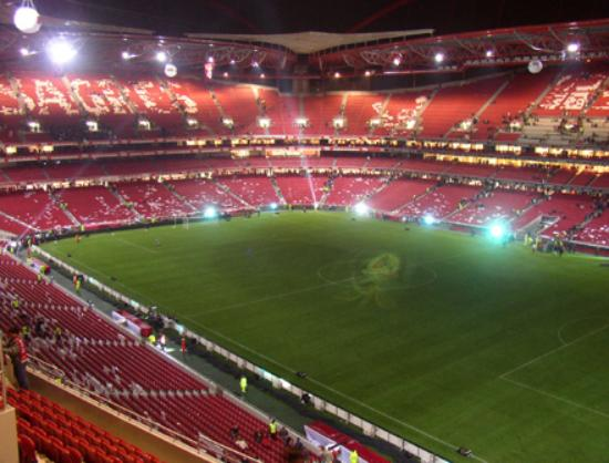 Estadio da luz picture of estadio da luz lisbon for Piso 0 estadio da luz