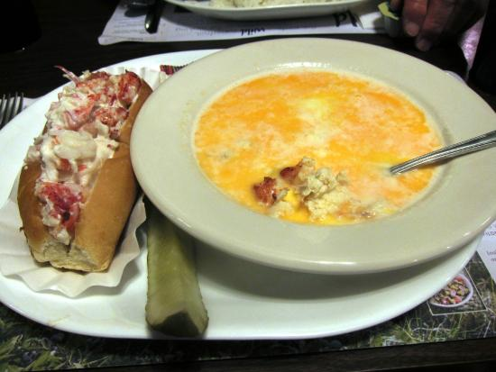 Hancock, ME: Lobster Roll and Stew